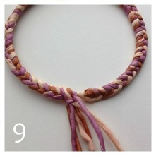 Креативный браслет из шнурков своими руками: мастер-класс