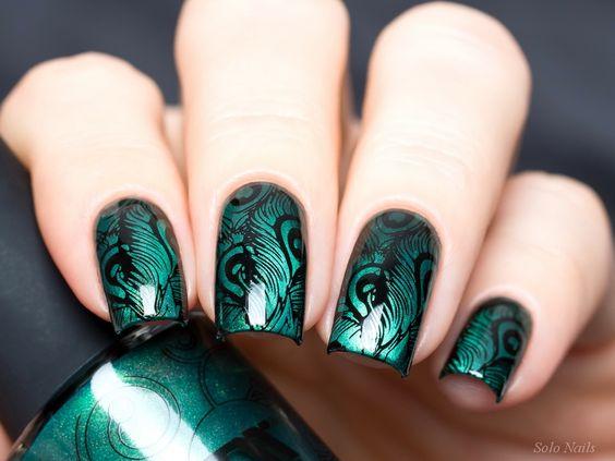 Дизайн ногтей - стемпинг: новинка нейл-арта