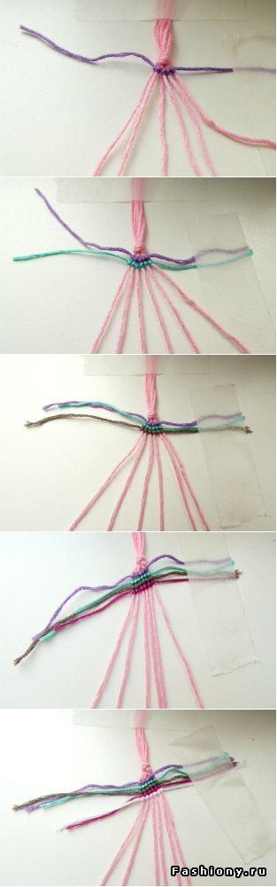 плетение чокера
