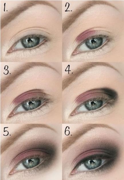 Дневной и вечерний макияж для зеленых глаз и темных волос: пошаговые фото, видео