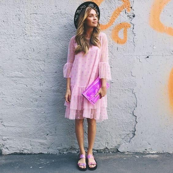 модное платье 2017