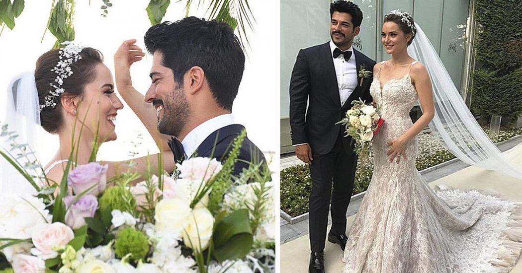 свадьба Бурака Озчивит и Фахрие Эвджен