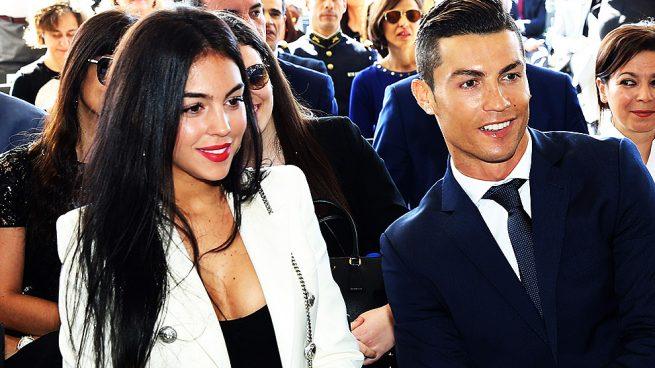 Криштиану Роналдо и его девушка