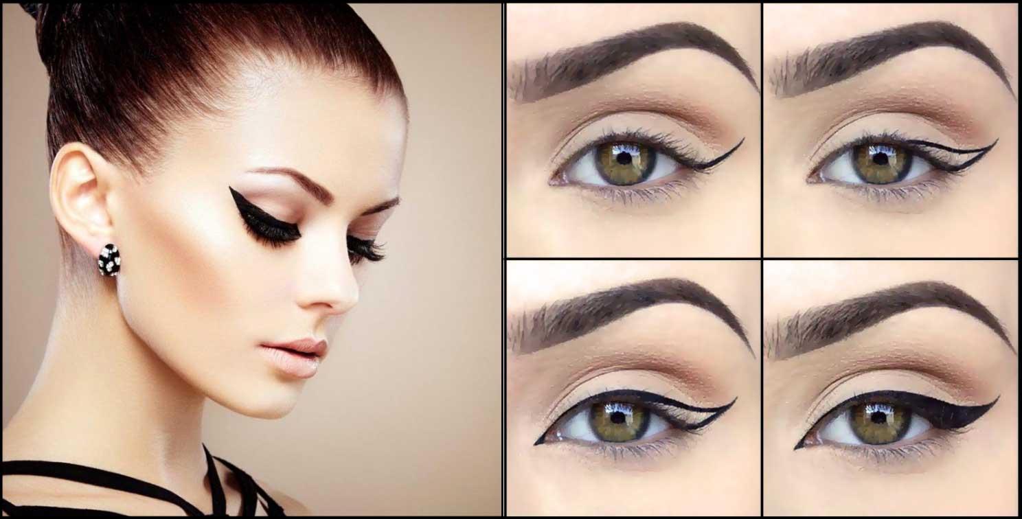 модный макияж для зеленых глаз