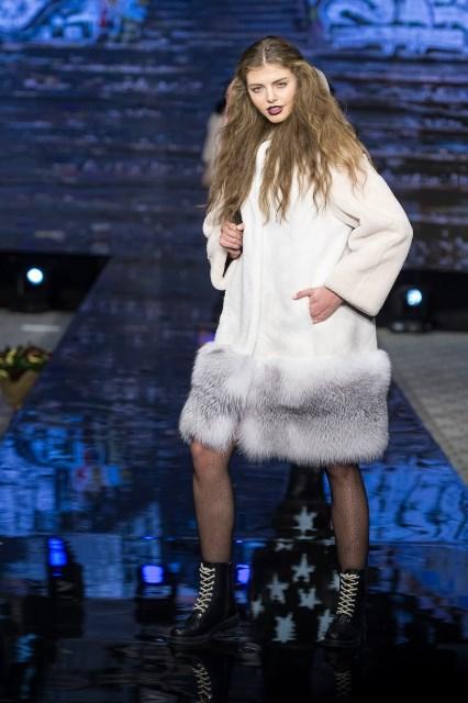 Шубы из норки 2017-2018 года: модные тенденции с фото