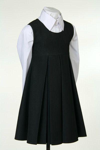 драпированная юбка на школьном платье