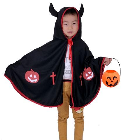 костюм чертик на хеллоуин своими руками
