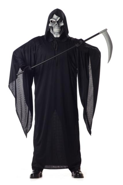 костюм смерти на хеллоуин