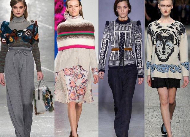 модные тенденции осень - зима 2017 -2018