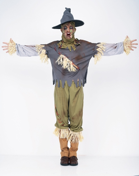 костюм пугала на хеллоуен