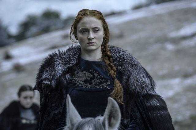 """Софи Тернер морила себя голодом на съемках """"Игры престолов"""": признания актрисы"""