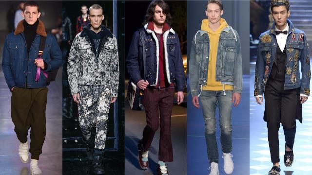 Мужская мода 2017-2018: тенденции с фото