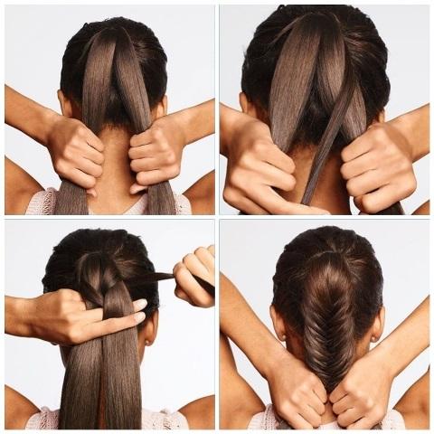 Красивые прически в школу за 5 минут самой себе на средние волосы: фото