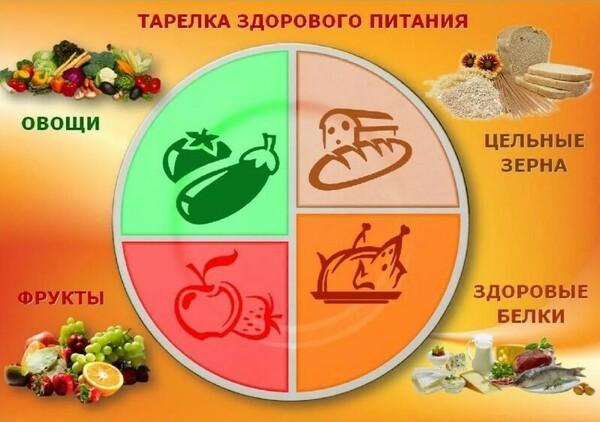 Правильное питание на каждый день: меню
