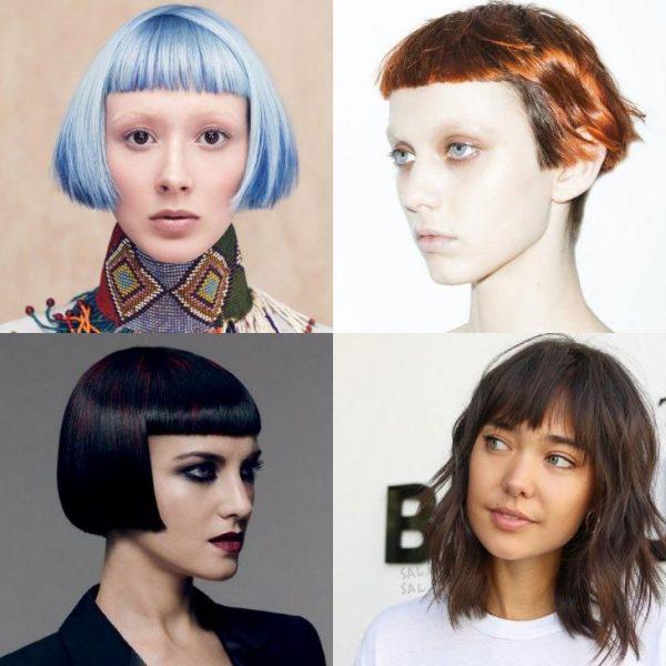 Каре с челкой 2018: модные тенденции, фото укладок