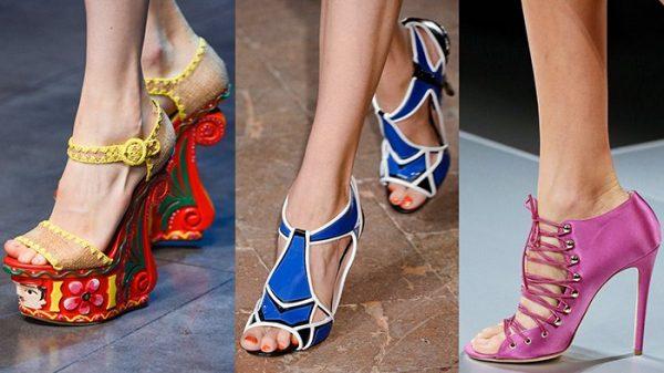 656ef17f9393 Модная обувь лето 2018: модные тенденции