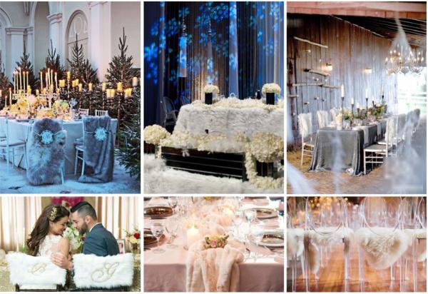 Свадьба зимой: идеи для вдохновения