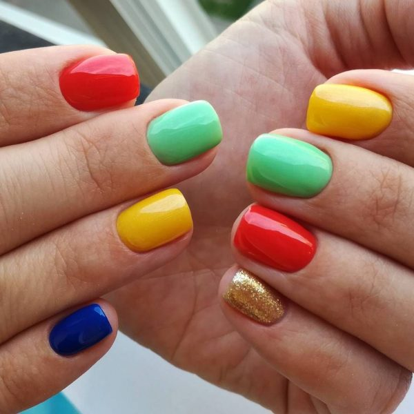 Яркие и модные! Дизайн ногтей 2018 года