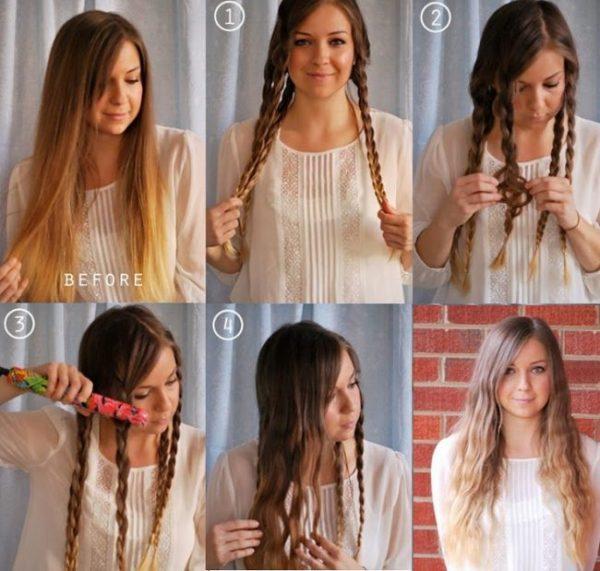 ТОП 3 совета как завить волосы