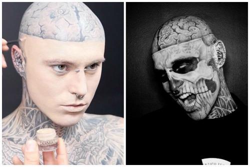 """Модель Рик """"Zombie Boy"""" найден мертвым в Канаде"""