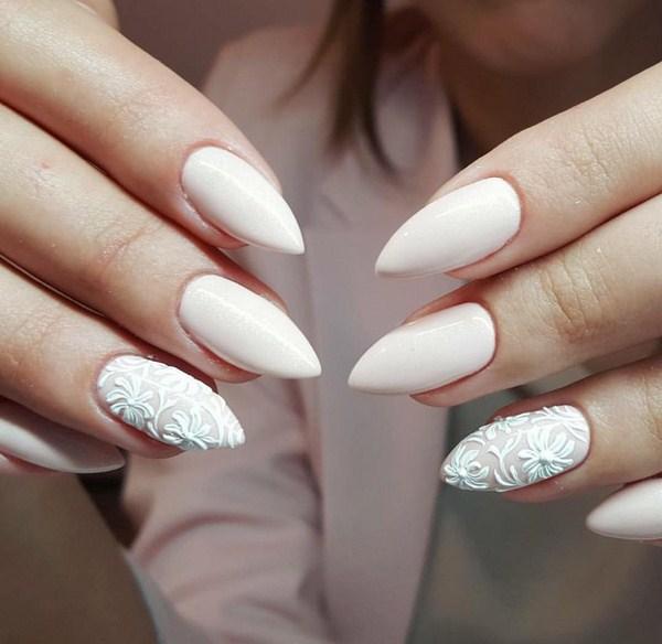 Стильный белый! Выбираем модный дизайн ногтей 2018