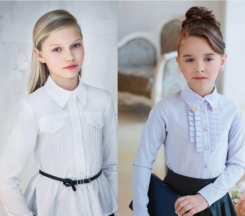 Модная школьная форма для девочек 2018