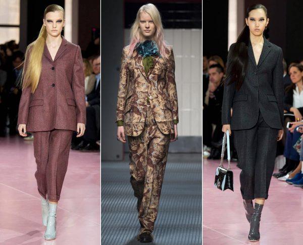 Модные женские брючные костюмы в 2021 году с фото