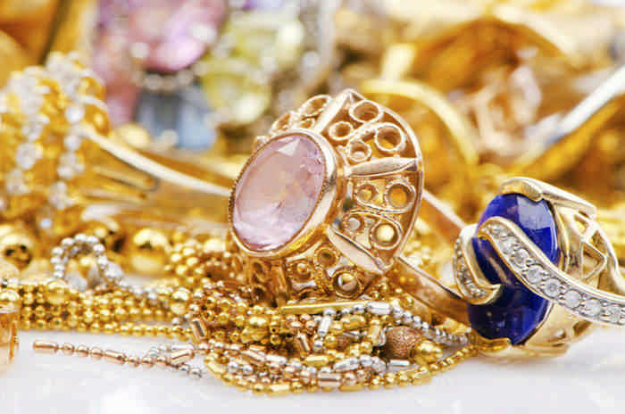 Очистить золото с камнями быстро и эффективно