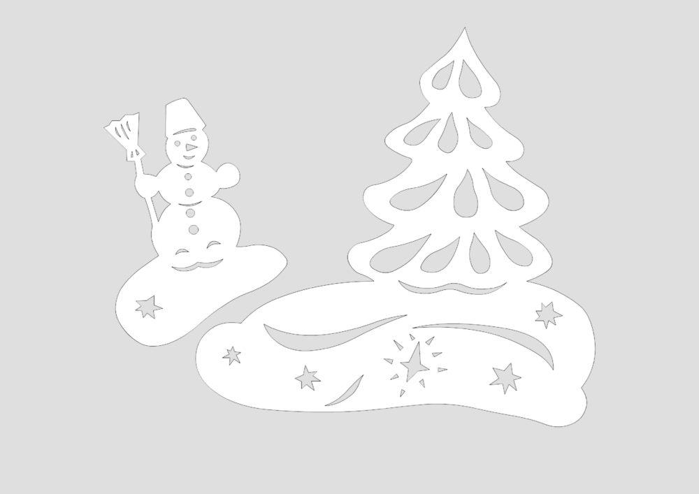 картинки для украшения на новый год шаблоны
