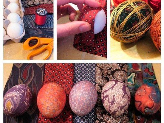 Как покрасить яйца на Пасху своими руками без красителей