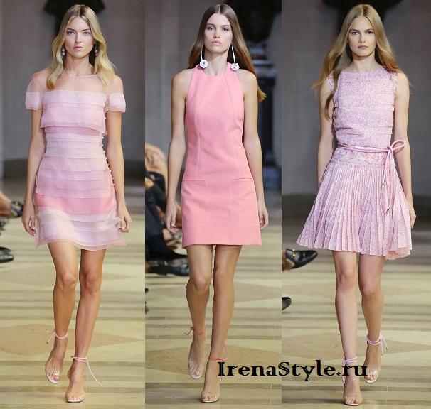 Платья в различных розовых тонах