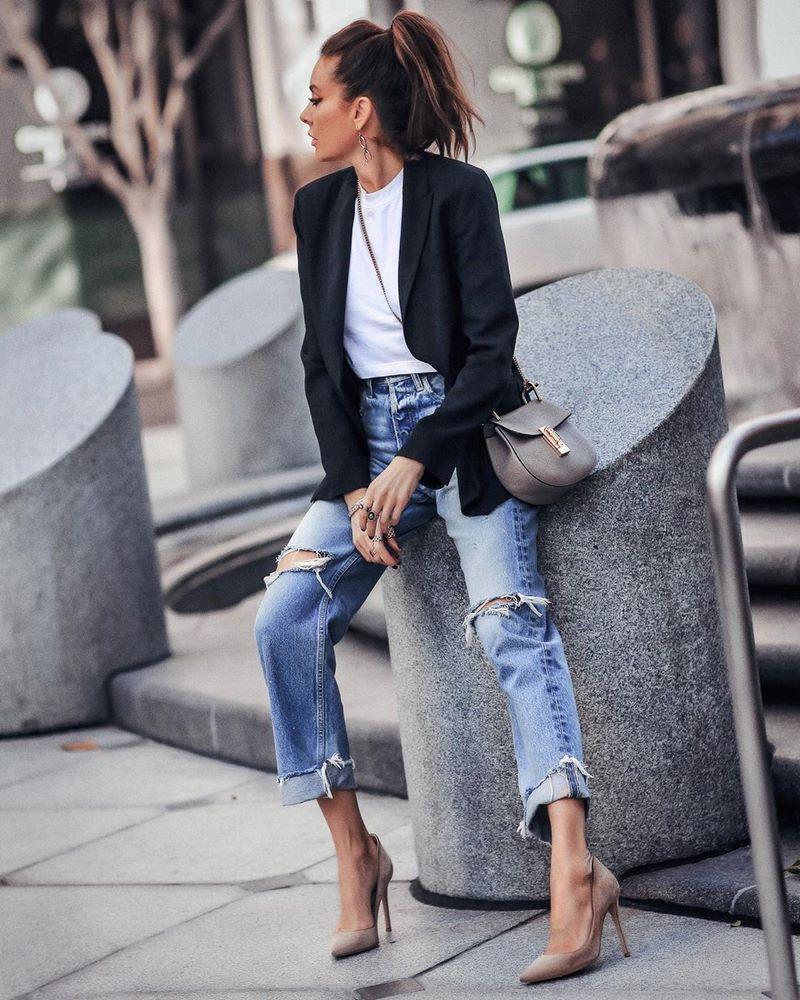 джинсы 2021 укороченные модели с длиной 7/8