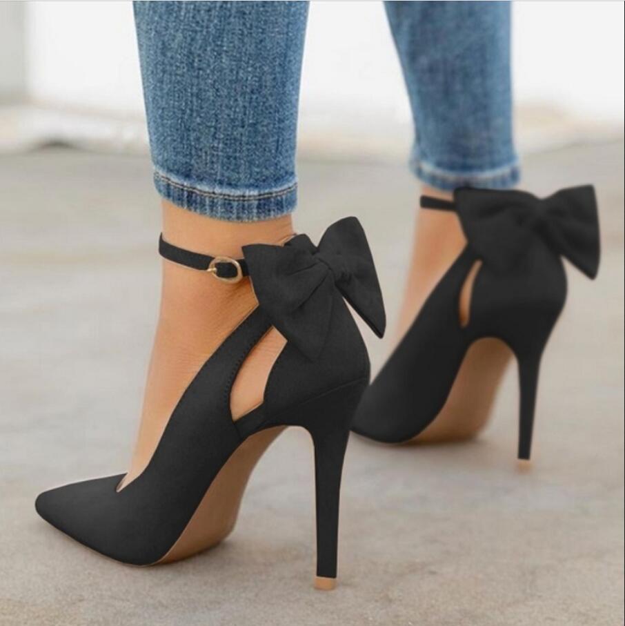 Стильные туфли черного цвета