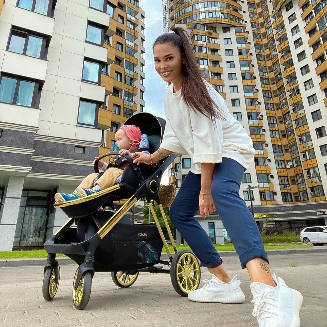 С ребенком на прогулку