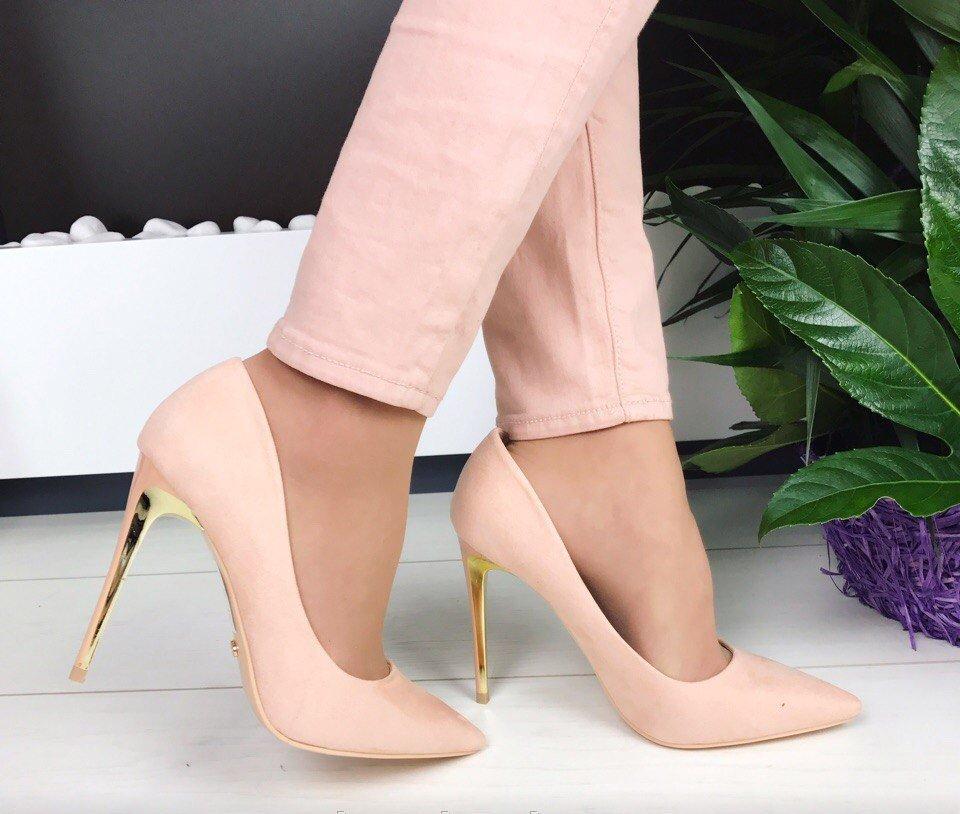 Туфли нюдовые бежевые оттенки
