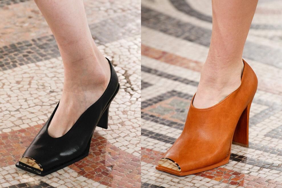 Квадратный мыс обуви